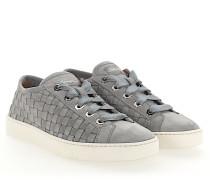 Sneaker 60336 Veloursleder Flecht-Details