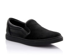 Slip-on Sneaker Tux Leder Pony