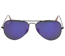 Sonnenbrille Aviator 3025 Metall bronze