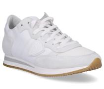 Sneaker low TROPEZ Glattleder Textil Veloursleder