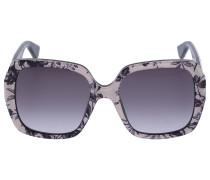 Sonnenbrille Oversized 96S Acetat schwarz