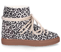Snowboots 70202-54 Veloursleder Leo Print leopard