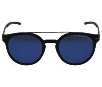 Sonnenbrille Clubmaster 8644 Metall Acetat schwarz