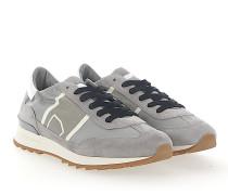 Sneaker low TOUJOURS Kalbsleder Nylon Veloursleder