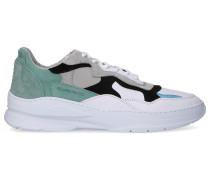Sneaker low LOW FADE COSMO Kalbsleder Logo grün