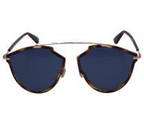 Sonnenbrille Aviator SOREAI Acetat Schildkröte braun