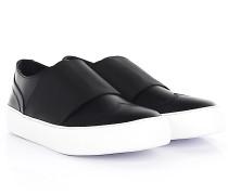 Sneaker Slip On ADAM Leder Stretchband