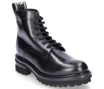 Chelsea Boots TAPE Glattleder Logo