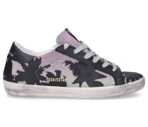 Sneaker low SUPERSTAR Glitter Logo Print Used