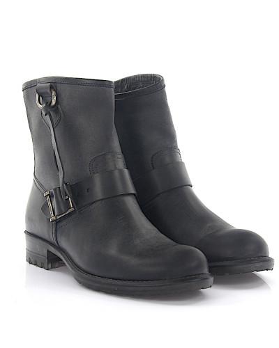 Stiefeletten Boots 224 Leder grau