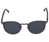 Sonnenbrille Round ATLANT Holz schwarz