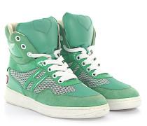 Sneaker Kalbsleder Lackleder Mesh Veloursleder Logo