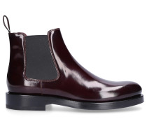 Chelsea Boots 58071 Kalbsleder bordeaux