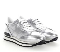 Sneaker H222 Kalbsleder Metallisch silber