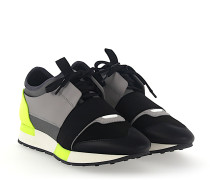 Sneaker RACE RUNNER Kalbsleder Mesh Textil