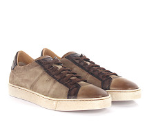 Sneaker Low 20000 Veloursleder Leder taupe finished