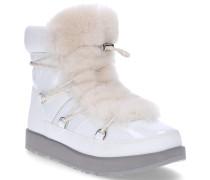Snowboots HIGHLAND WATERPROOF Glattleder Textil