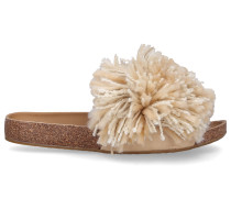 Sandalen CINDI Baumwolle Fransen