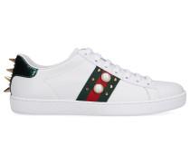 Sneaker low NEW ACE SNEAKER Kalbsleder Logo Nieten