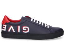 Sneaker low URBAN STREET Kalbsleder Logo