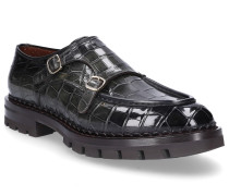 Monk Schuhe 16306 Krokodilleder