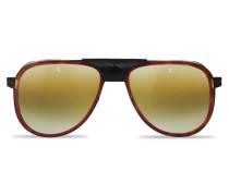 Sonnenbrille Pilotenbrille GLACIER Stahl Acetat