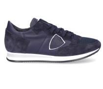 Sneaker TROPEZ Glattleder Textil Veloursleder Logo