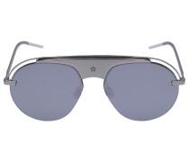 Sonnenbrille Aviator EVOLUT Metall silber Verspiegelt