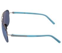 Sonnenbrille Aviator 8569 Acetat blau