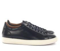 Sneaker RYAN Leder dunkel poliert