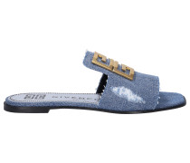 Loafer 4G FLAT Denim Logo
