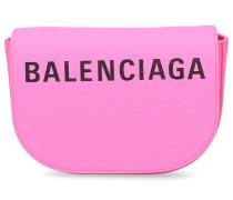 Handtasche VILLE DAY XS Kalbsleder Logo rosa