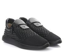 Sneaker Runner Studs Kautschuk Origami Mesh