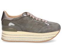 Sneaker low H368 Glattleder Glitter Lackleder