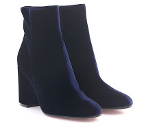 Stiefeletten Boots Rolling 85 Samt royal