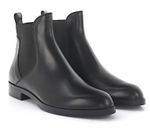 Stiefeletten Chelsea Boots Leder