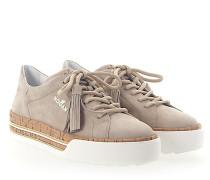 Sneaker H377 Kork Veloursleder