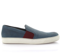 Sneakers Slip On Leder