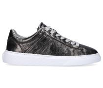Sneaker low H365 Kalbsleder Logo grau