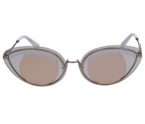 Sonnenbrille Cat Eye 40001U 32E Metall gold