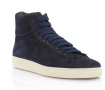 Sneakers High Veloursleder