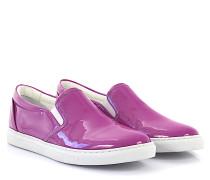2 Sneaker Slip On K513 Lackleder lila