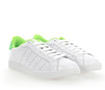 Sneaker SANTA MONICA Glattleder Textil grün