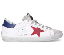 Sneaker low S590 Kalbsleder Kalbsvelours Patch Used