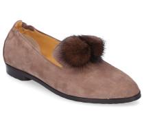Loafer 8858 Veloursleder Bommel