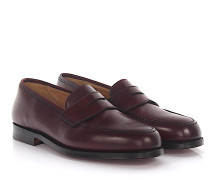 Penny Loafer Slipper BOSTON Leder Cordovan Bordeaux