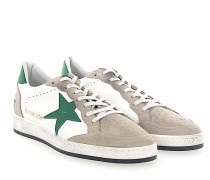 Sneaker G31MS Veloursleder grau Leder weiss