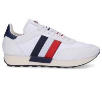 Sneaker low HORACE Kalbsvelours Mesh Logo Streifen