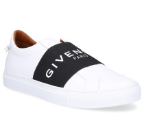 Slip-On URBAN Glattleder Logo