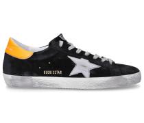 Sneaker low S590 SUPERSTAR Kalbsvelours Logo Patch